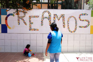 "Photo illustrant la mission ""Orphelinat en Bolivie"", avec Lifetime Projects"