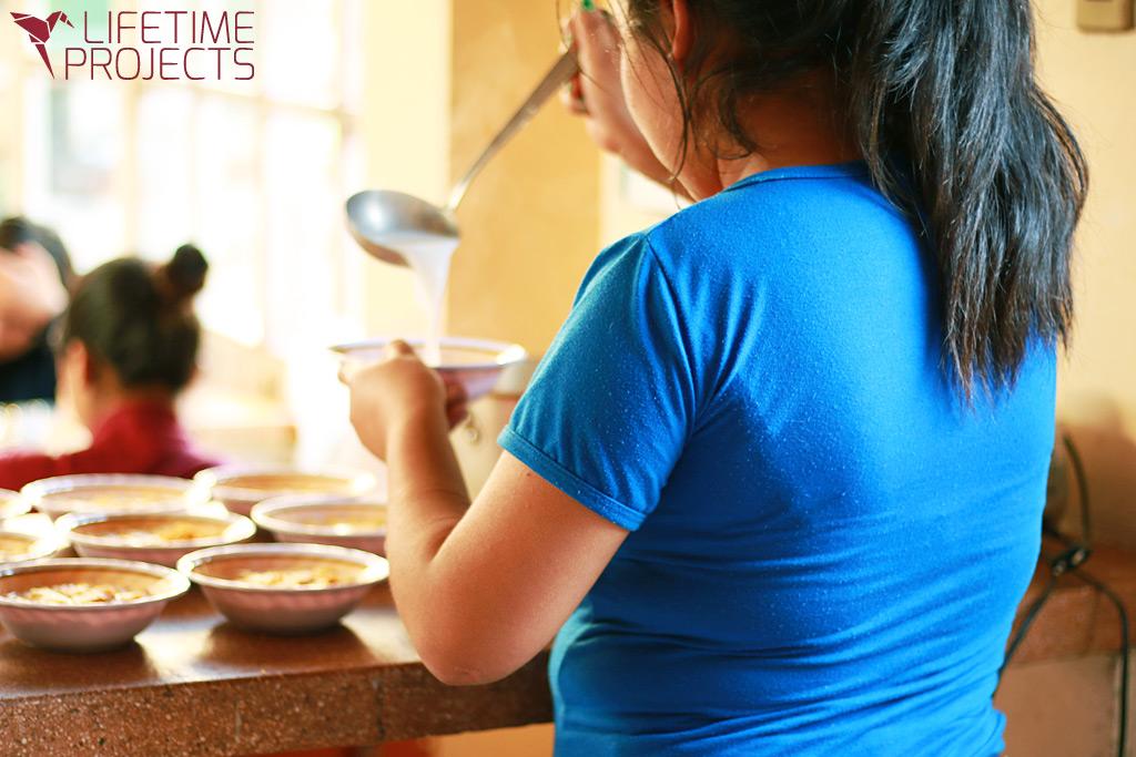 Lifetime Projects : illustration du parrainage du projet de restauration de Liliana en Bolivie