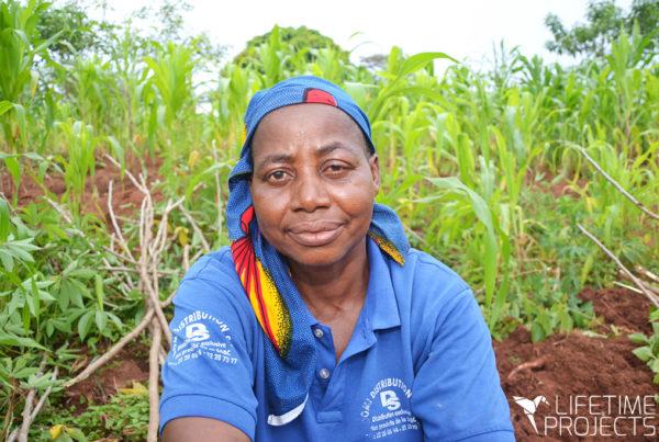 Lifetime Projects : illustration du parrainage du projet d'élevage de Mama Magno au Cameroun