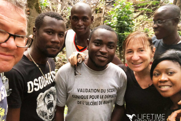 "Photo illustrant l'article de Lifetime Projects : ""Volontariat au Cameroun : témoignage de Chris et Christine Broad"""