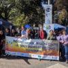 LifeTime Projects : photo prise lors d'une marche contre le traffic d'êtres humains à Cochabamba, Bolivie