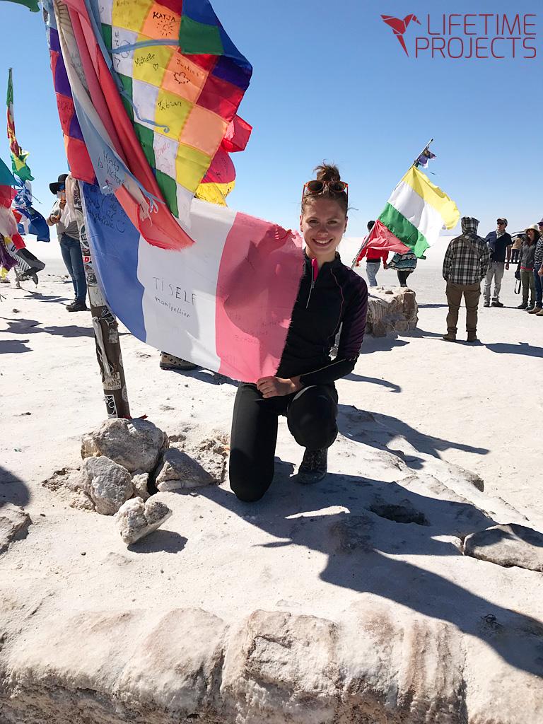 Photo du témoignage de Clarisse Malou-Soucat en Bolivie - Impuls'Her Project - avec LifeTime Projects