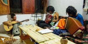 Photo de la mission d'animation socio-culturelle avec Vivac't en Colombie, avec Lifetime Projects