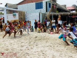 Photo de la mission d'échanges socioculturels avec Vivac't en Colombie, avec Lifetime Projects