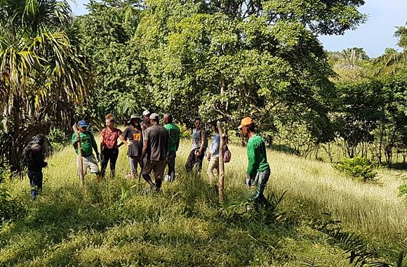LifeTime Projects : photo de la mission d'éco-citoyenneté en Colombie
