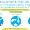 Campagne « de l'eau et des kits d'hygiène pour lutter contre le COVID-19 dans les orphelinats du Cameroun » avec LifeTime Projects