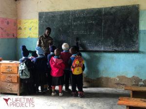 Photo de la mission École primaire en Tanzanie, avec Lifetime Projects