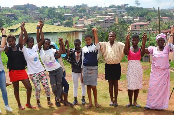 Photo du projet Impuls'her au Cameroun et en Bolivie, avec Lifetime Projects