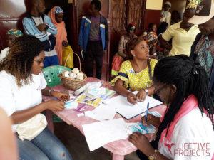 Photo de l'action sociale au Cameroun, avec LifeTime Projects