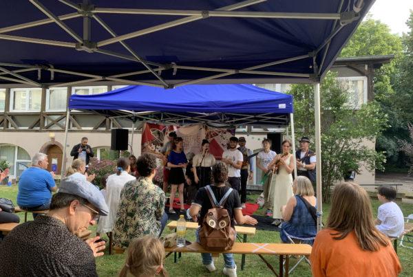 Photo du concert du festival Cité Spach avec LifeTime Projects