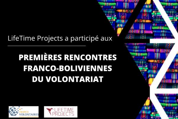 illustration de la rencontre de lifetime projects avec France volontaires